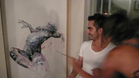 Dairo Vargas - live painting